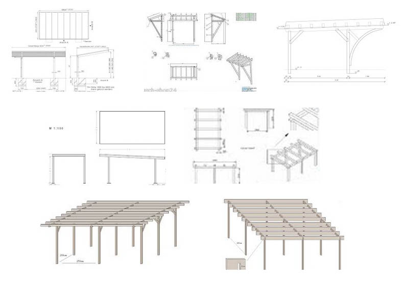 carport bauplan carport tipps vom fachmann. Black Bedroom Furniture Sets. Home Design Ideas