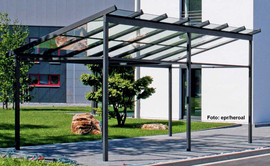 der aluminium carport carport ratgeber. Black Bedroom Furniture Sets. Home Design Ideas