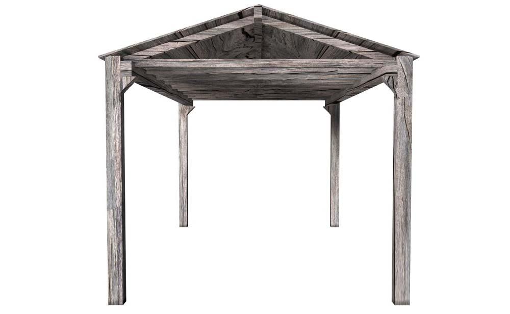 TerrassenUberdachung Freistehend Holz Selber Bauen ~ So sieht ein Carport mit Satteldach aus – Satteldach Carport